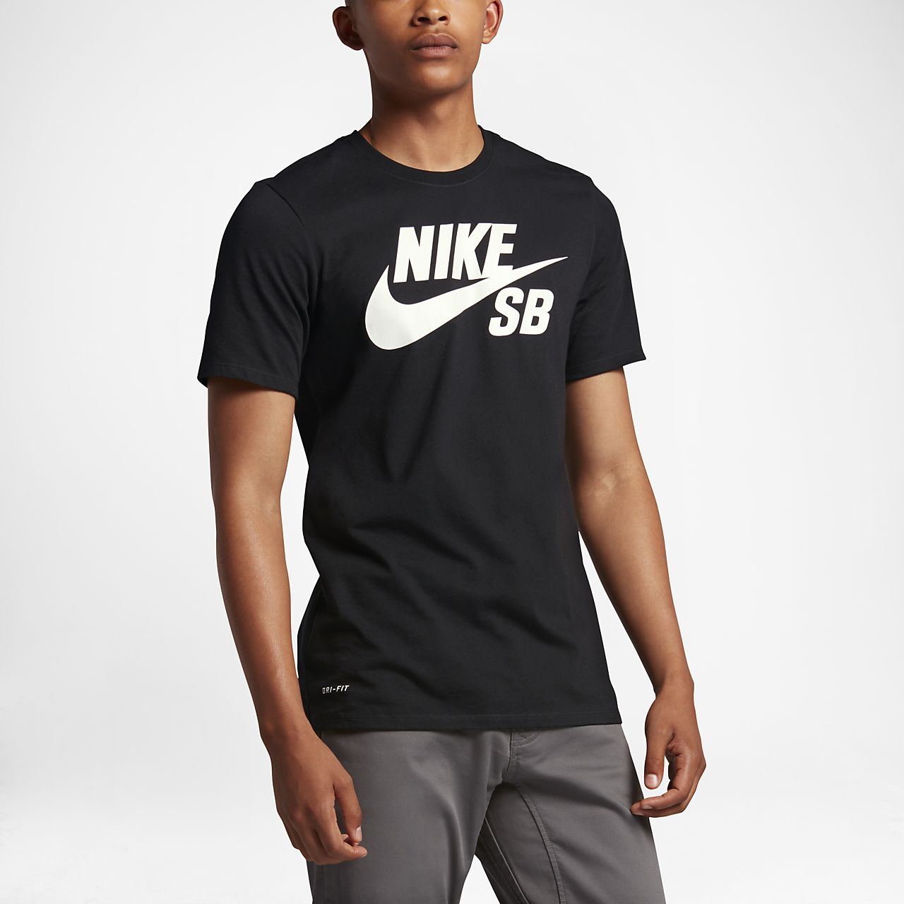 Nike sb logo men 39 s t shirt ma for Nike flyknit t shirt