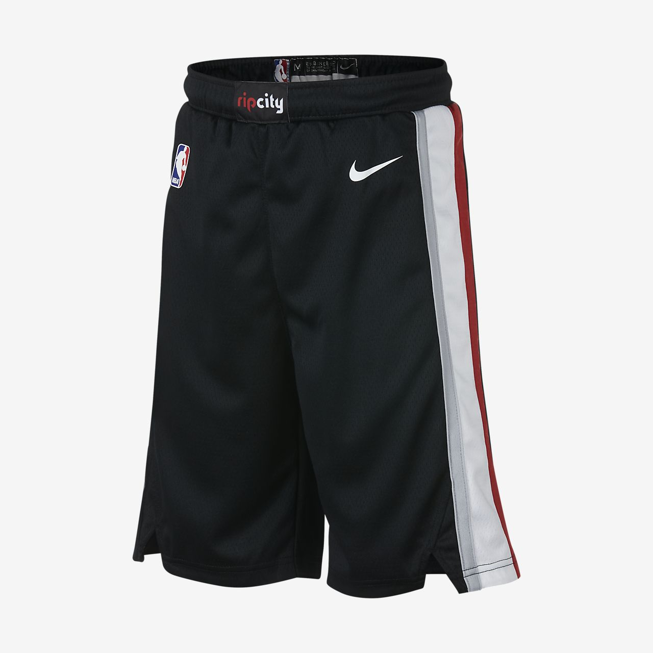 new product 26d17 94efa Portland Trail Blazers Nike Icon Edition Swingman Big Kids' (Boys') NBA  Shorts