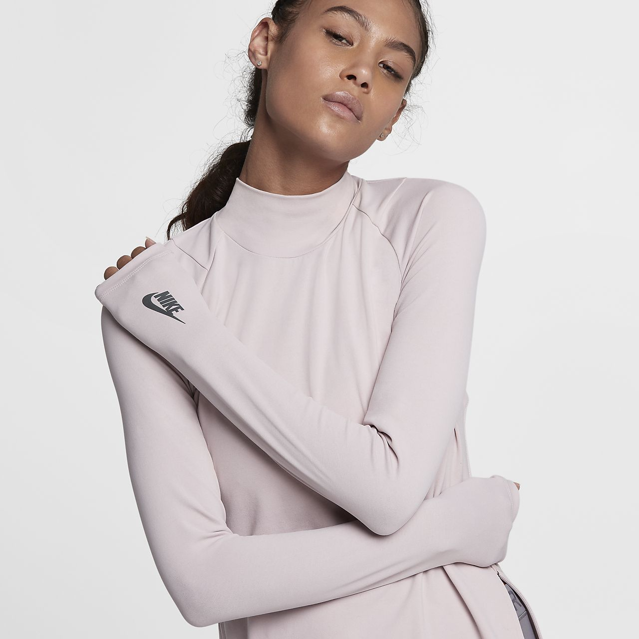NikeLab Essentials Mock Neck Women's Top