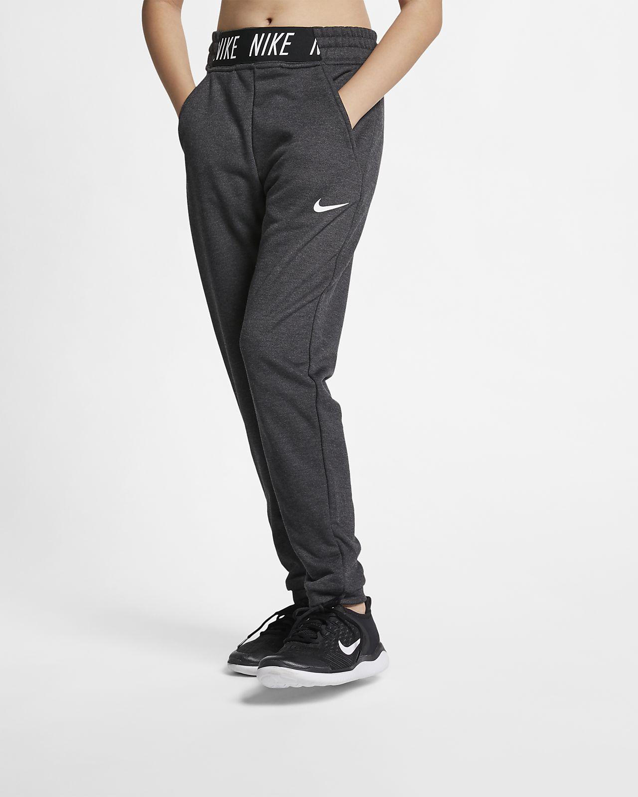 Träningsbyxor Nike för ungdom (tjejer)