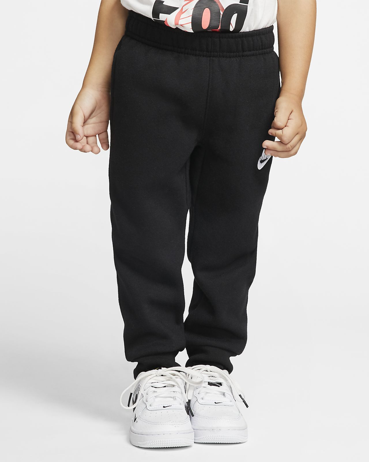 Pantaloni con risvolto Nike Club Fleece - Bimbi piccoli