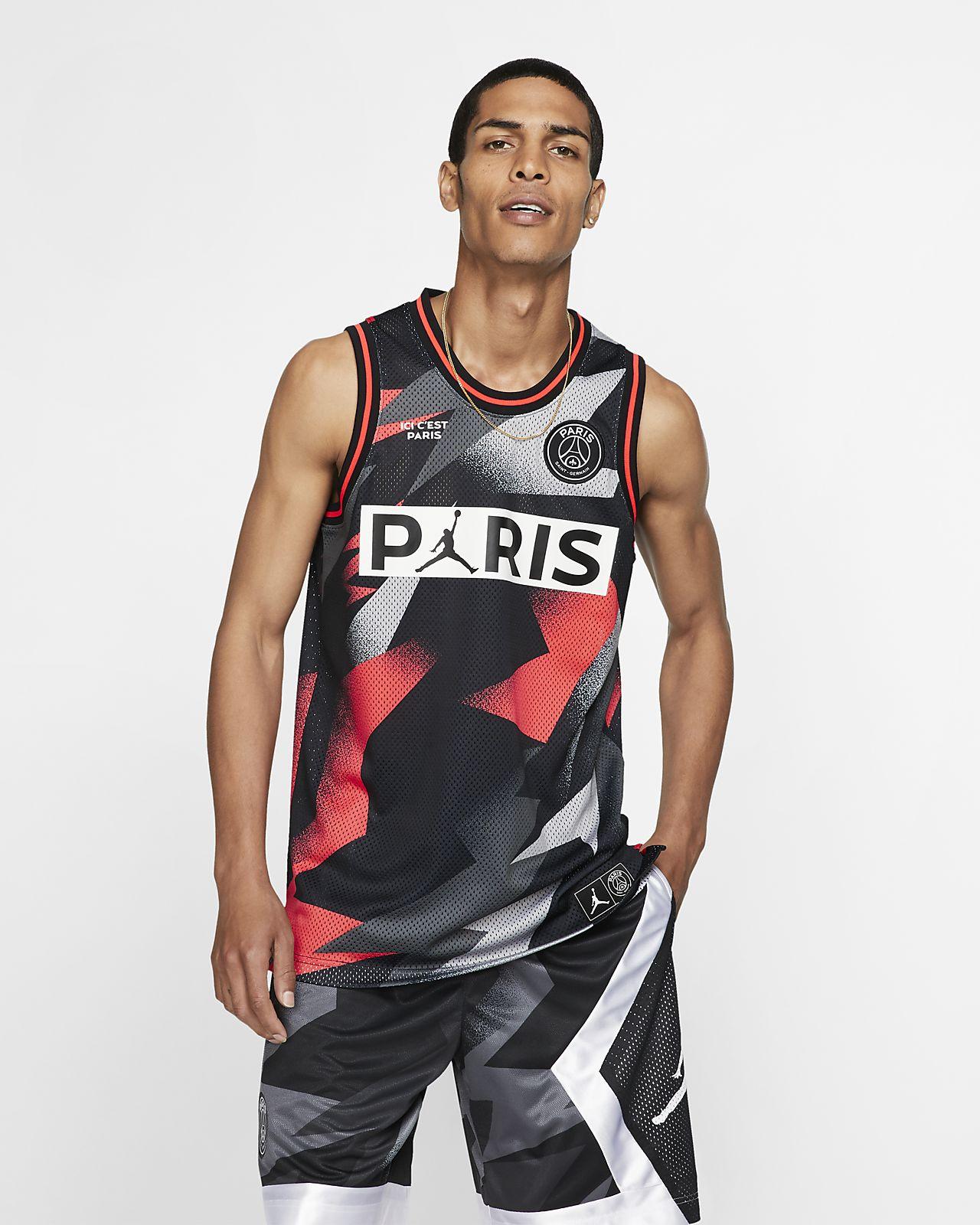 Paris Saint-Germain 男款網布球衣