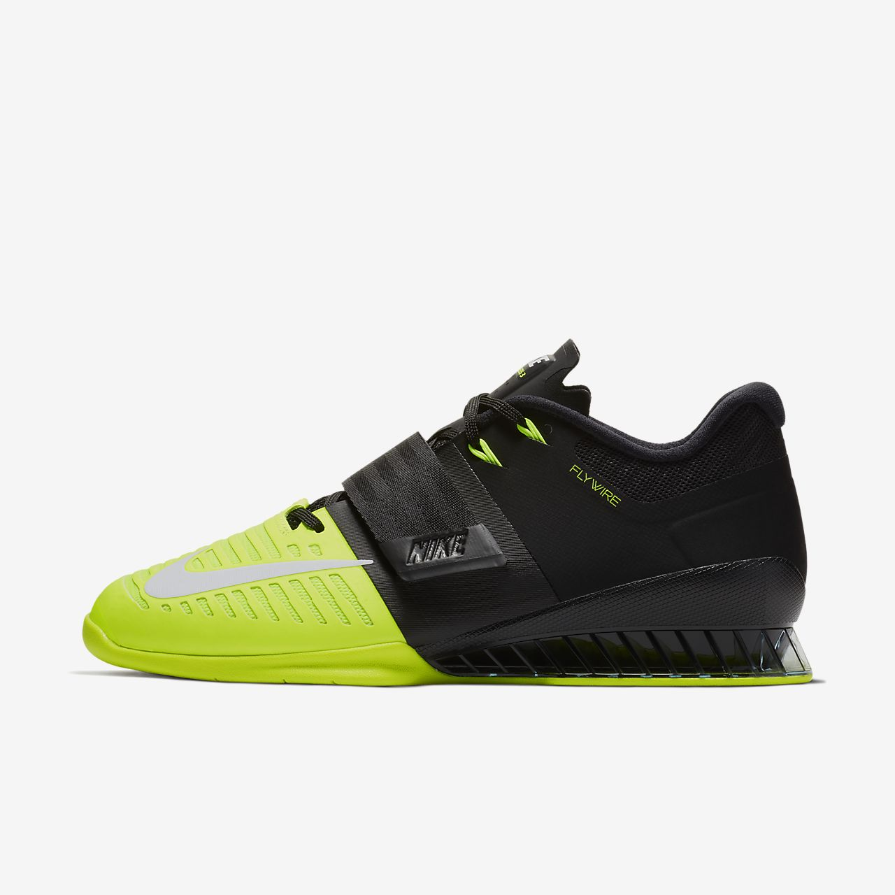 NIKE Romaleos II zapatos de levantamiento de peso–Volt/Sequoia (14) YdY5WhMn3V