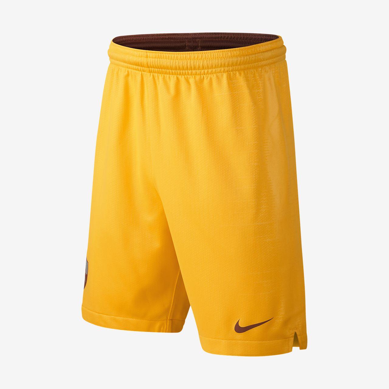 2018/19 A.S. Roma Stadium Third Older Kids' Football Shorts