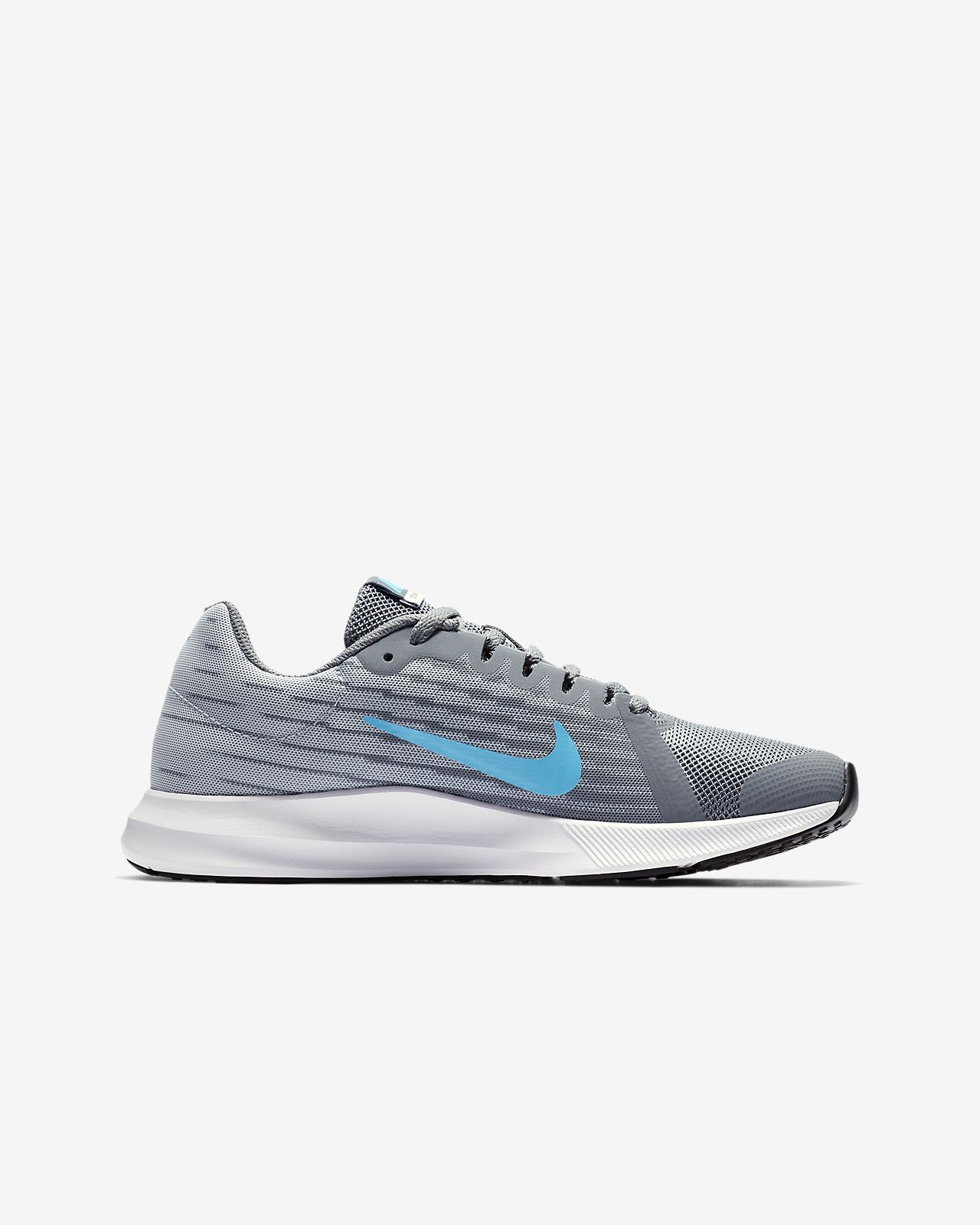 Calzado de running para niños talla grande Nike Downshifter 8. Nike ... 04784fc504545