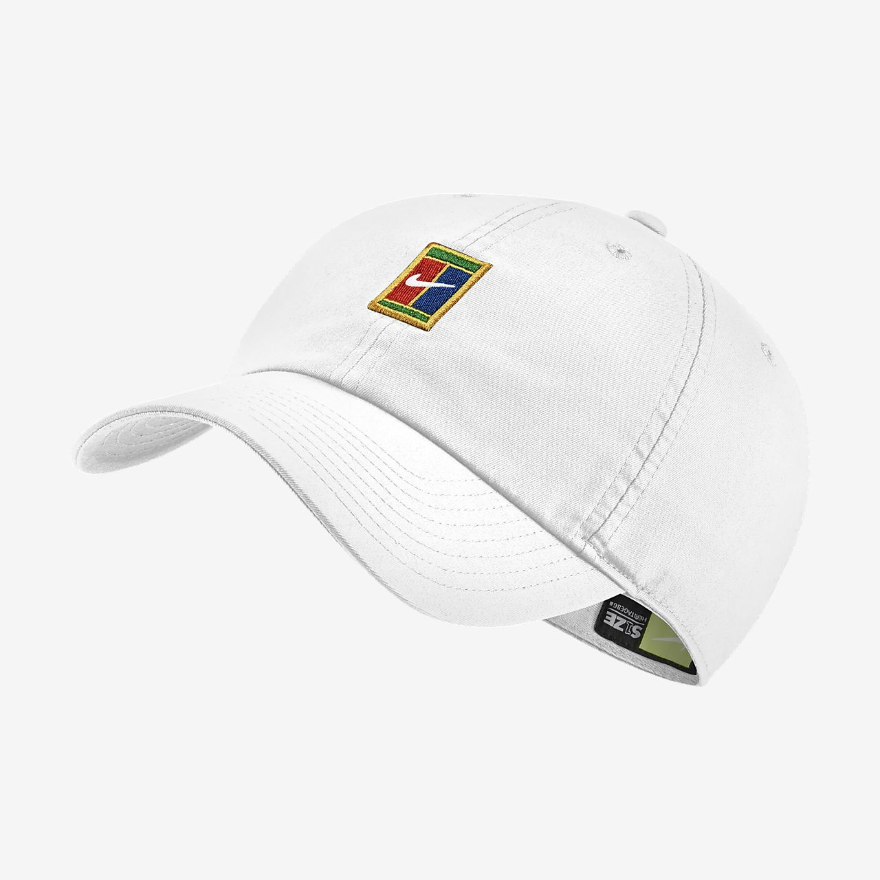fe0872d60f5e7 ... shop nikecourt heritage 86 adjustable tennis hat 78093 4e85d cheap nike  court sportswear aerobill ...