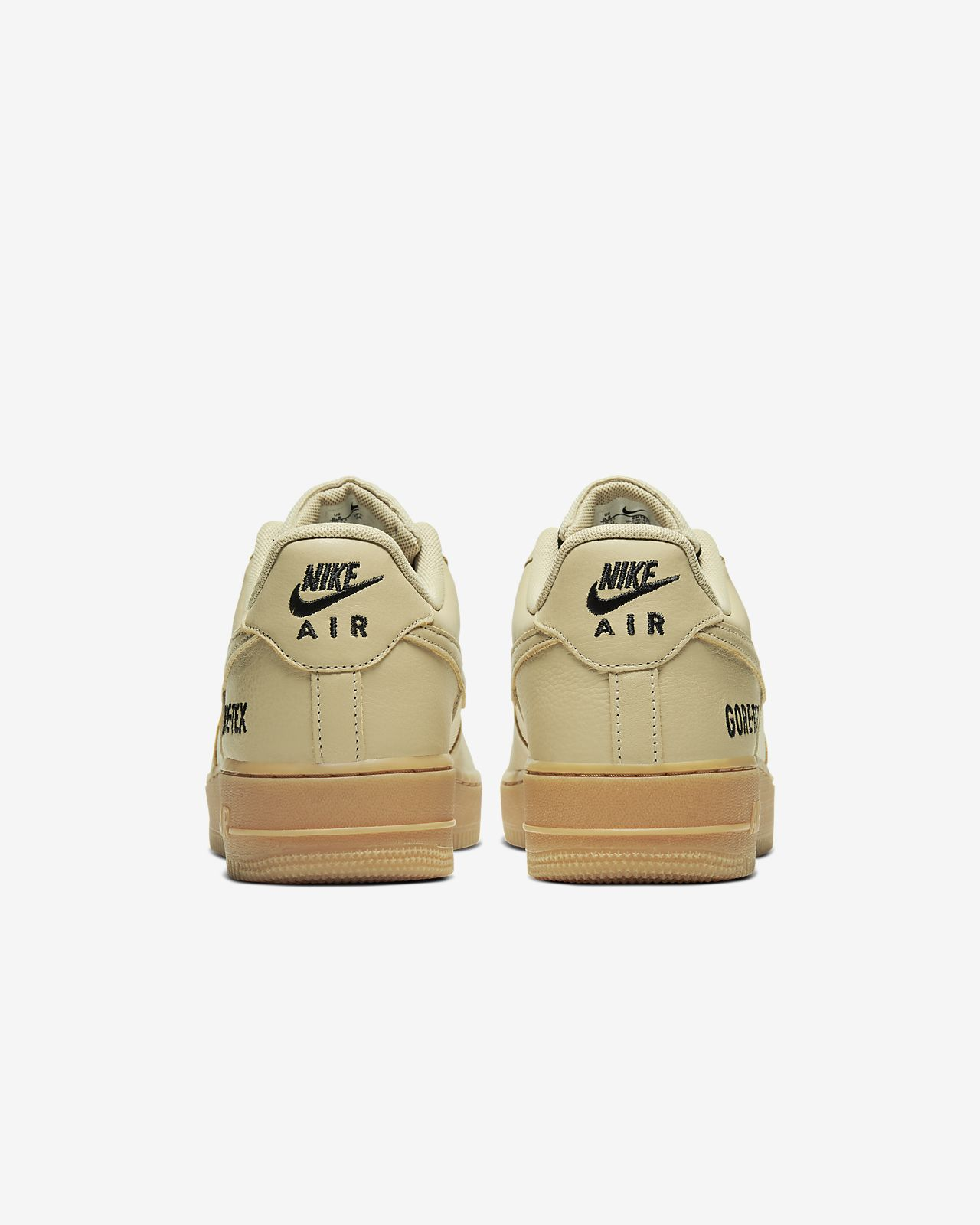 Nike Air Force 1 GTX Gore Tex Team Gold Khaki Mens Casual