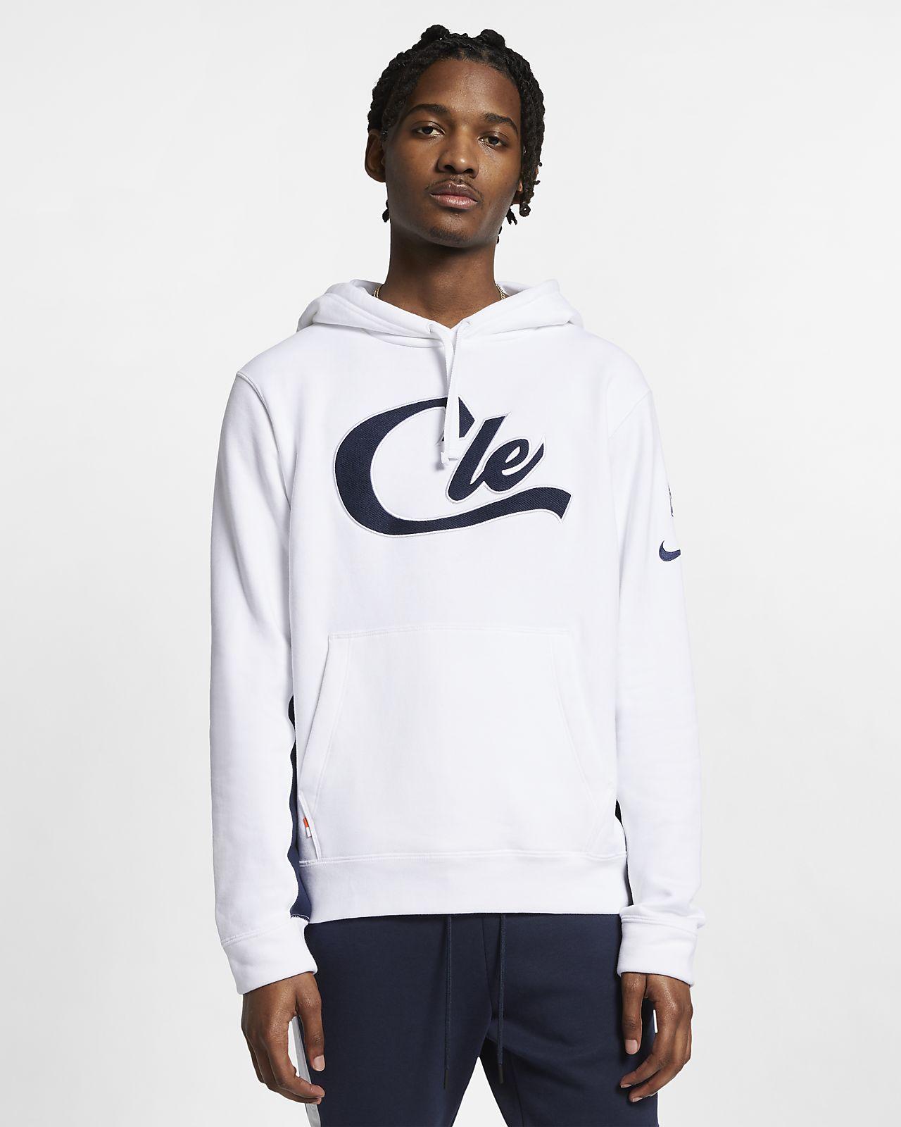 Cleveland Cavaliers Nike-NBA-hættetrøje til mænd