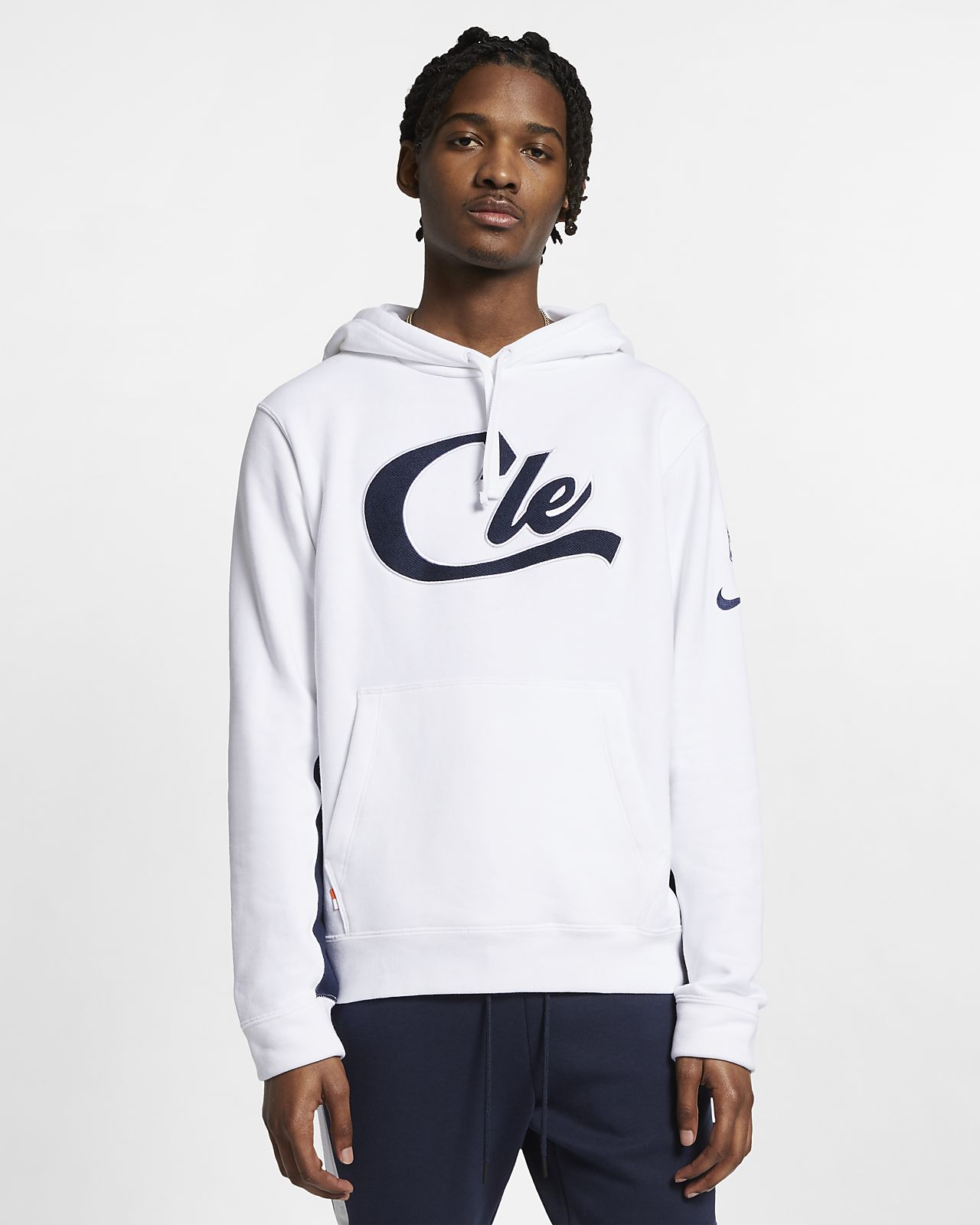 Pánská mikina NBA Cleveland Cavaliers Nike s kapucí