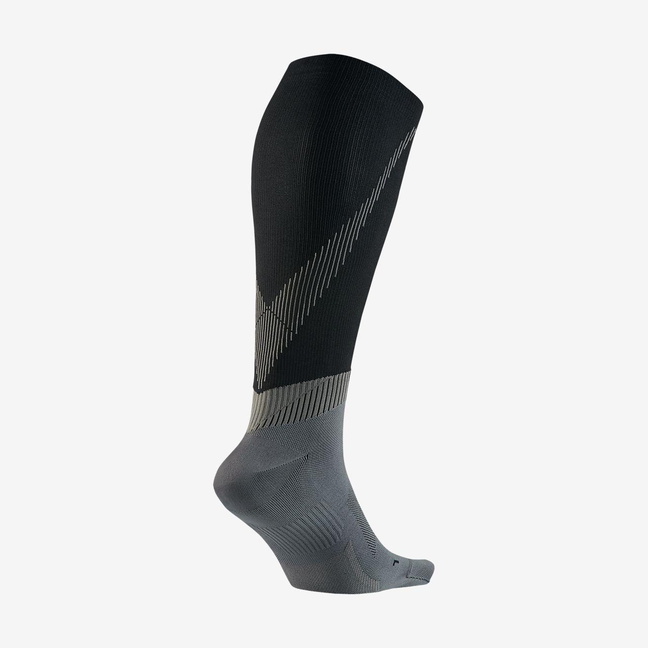 ... Nike Elite Over-The-Calf Running Socks
