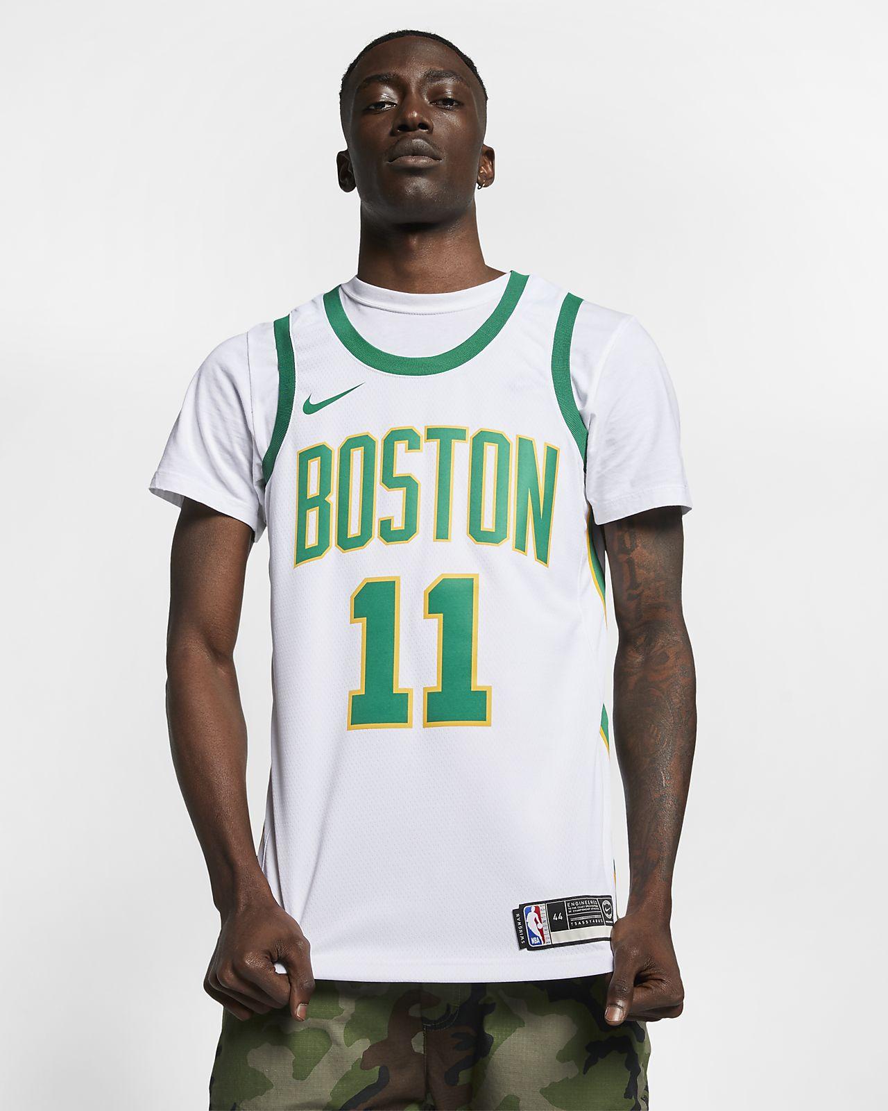 Kyrie Irving City Edition Swingman (Boston Celtics) 男款 Nike NBA Connected Jersey