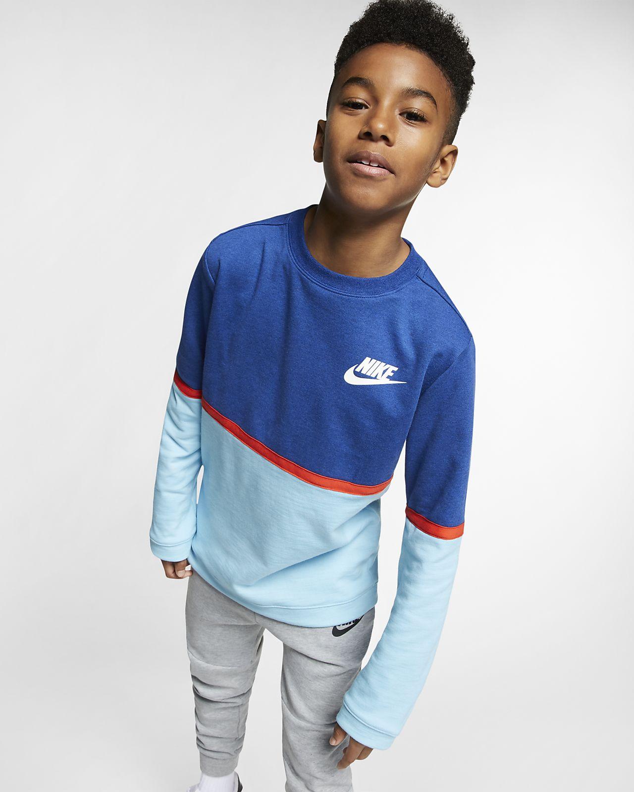 Nike Sportswear Advance 15 Big Kids' (Boys') Crew