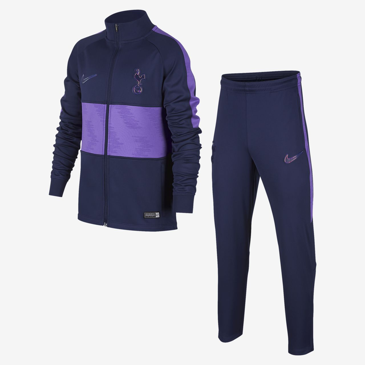 Tottenham Hotspur Strike Older Kids' Football Tracksuit