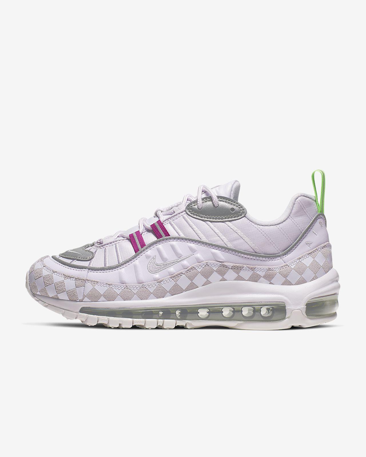 Rutmönstrad sko Nike Air Max 98 för kvinnor