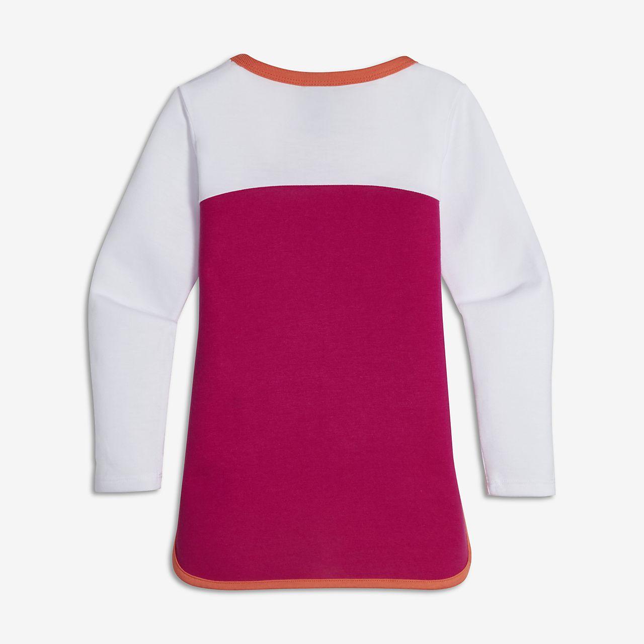 Nike Prep Little Kids 39 Girls 39 Long Sleeve Shirt