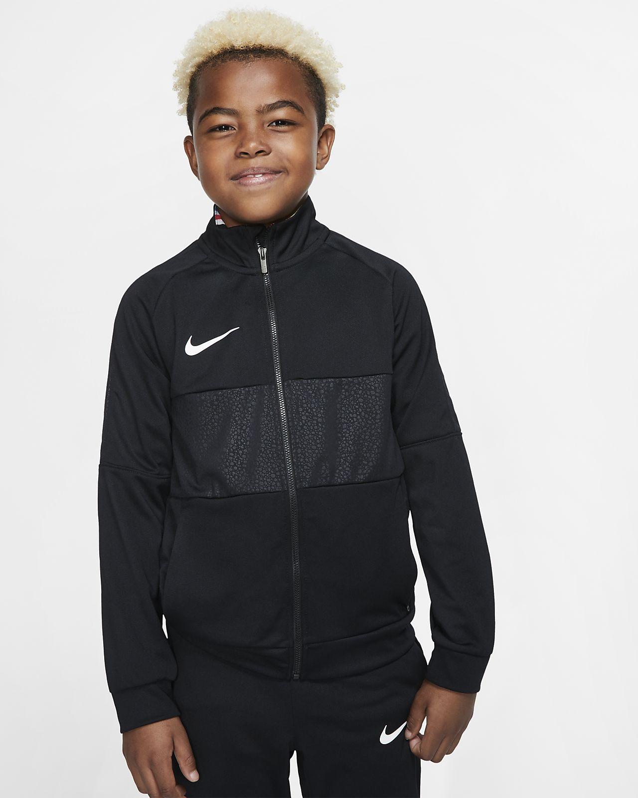 Nike Dri-FIT Mercurial耐克刺客系列大童(男孩)足球夹克