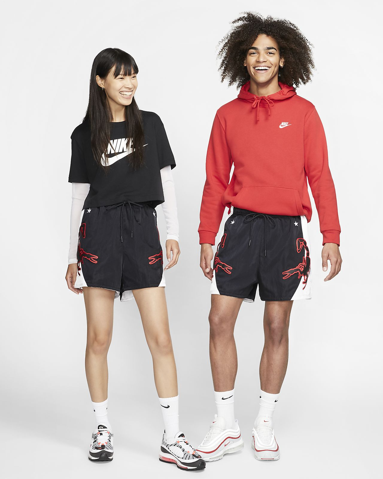 Шорты из тканого материала Nike Sportswear