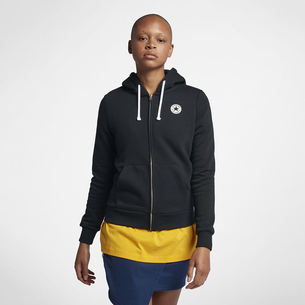 Converse Chuck Taylor Women's Full-Zip Graphic Hoodie