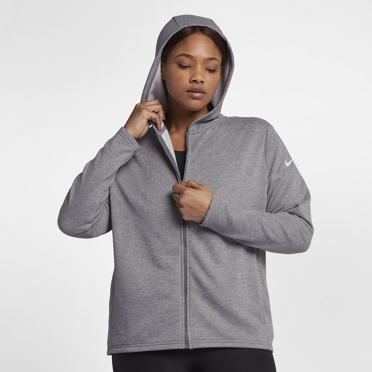 ... Nike Dri-FIT Women's Full-Zip Training Hoodie