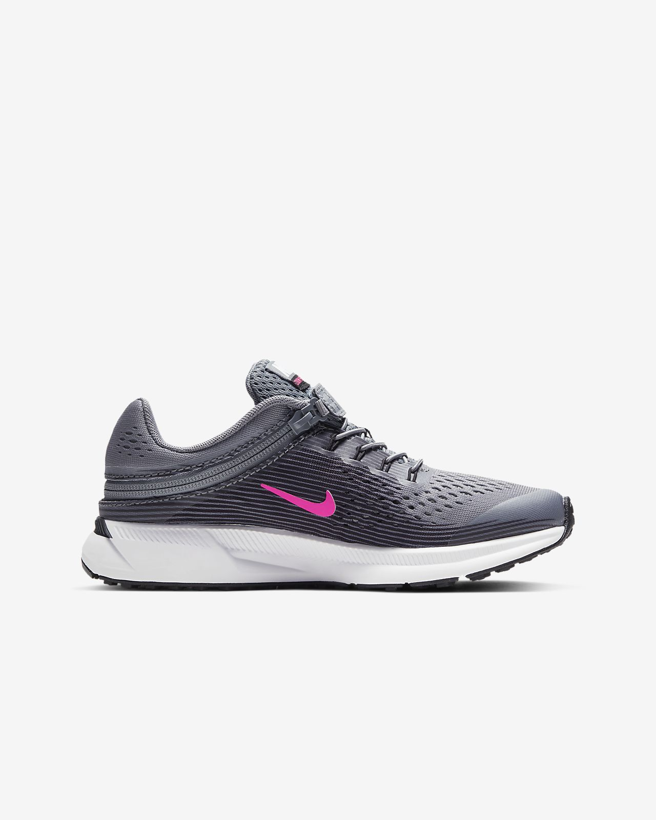 newest collection e8d4c 67976 Nike Zoom Pegasus 34 FlyEase Younger/Older Kids' Running Shoe