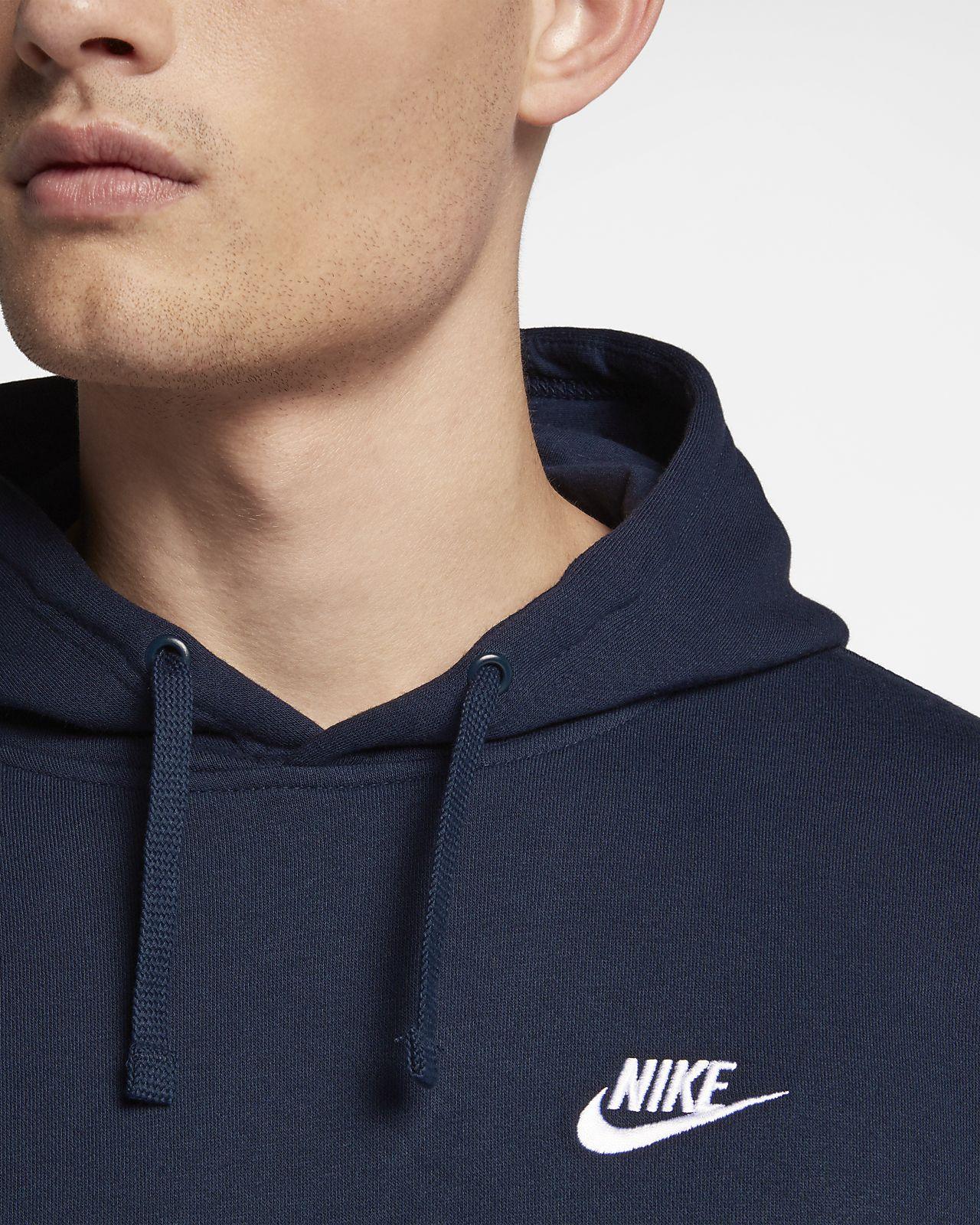 nike hoodie club fleece