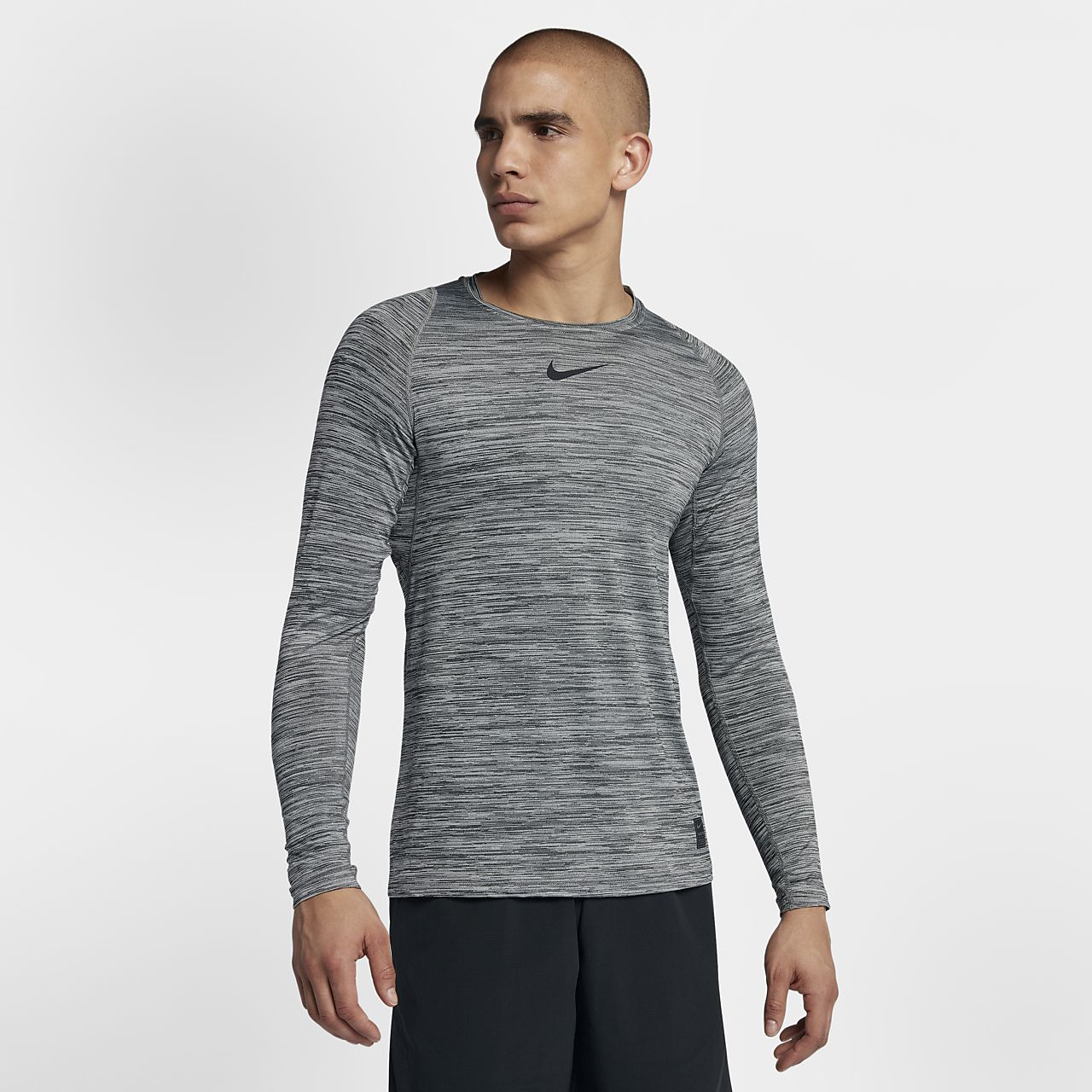 44508200 Nike Pro Fitted Men's Long Sleeve Training Top. Nike.com