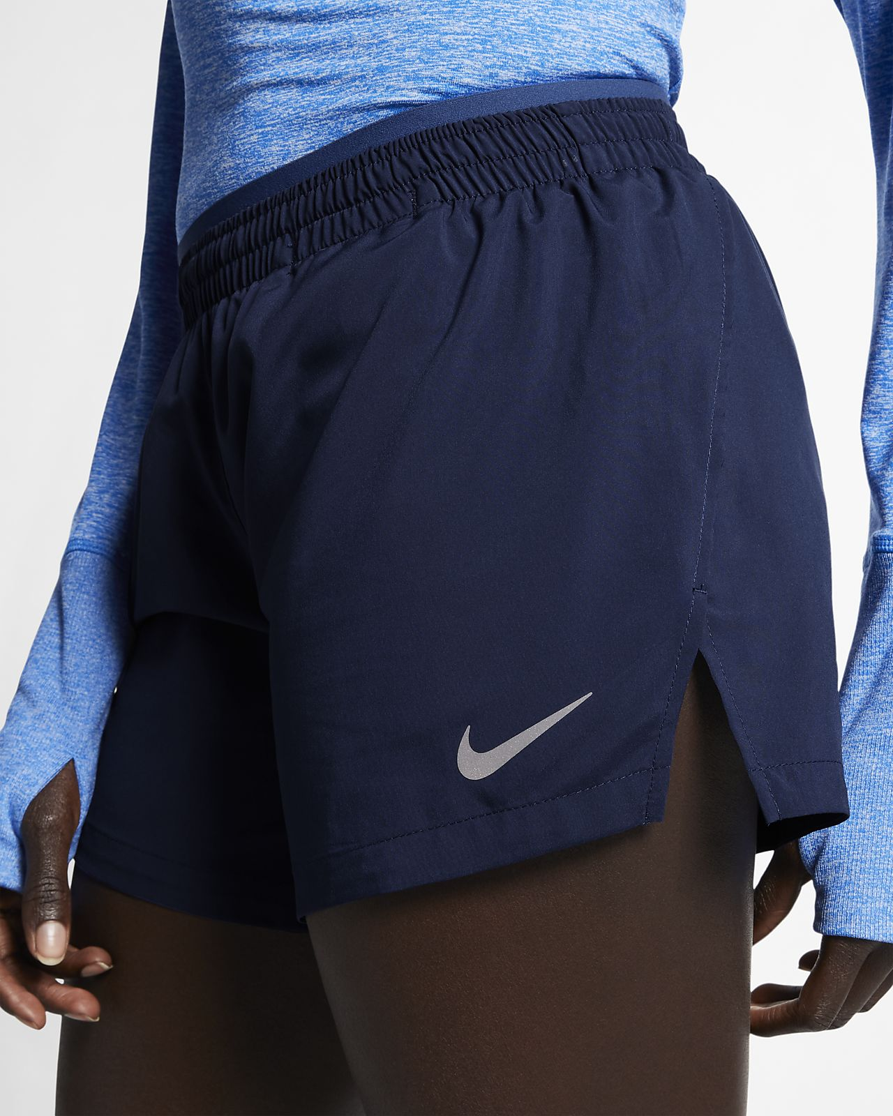Nike Elevate løpeshorts for dame (12,5 cm)