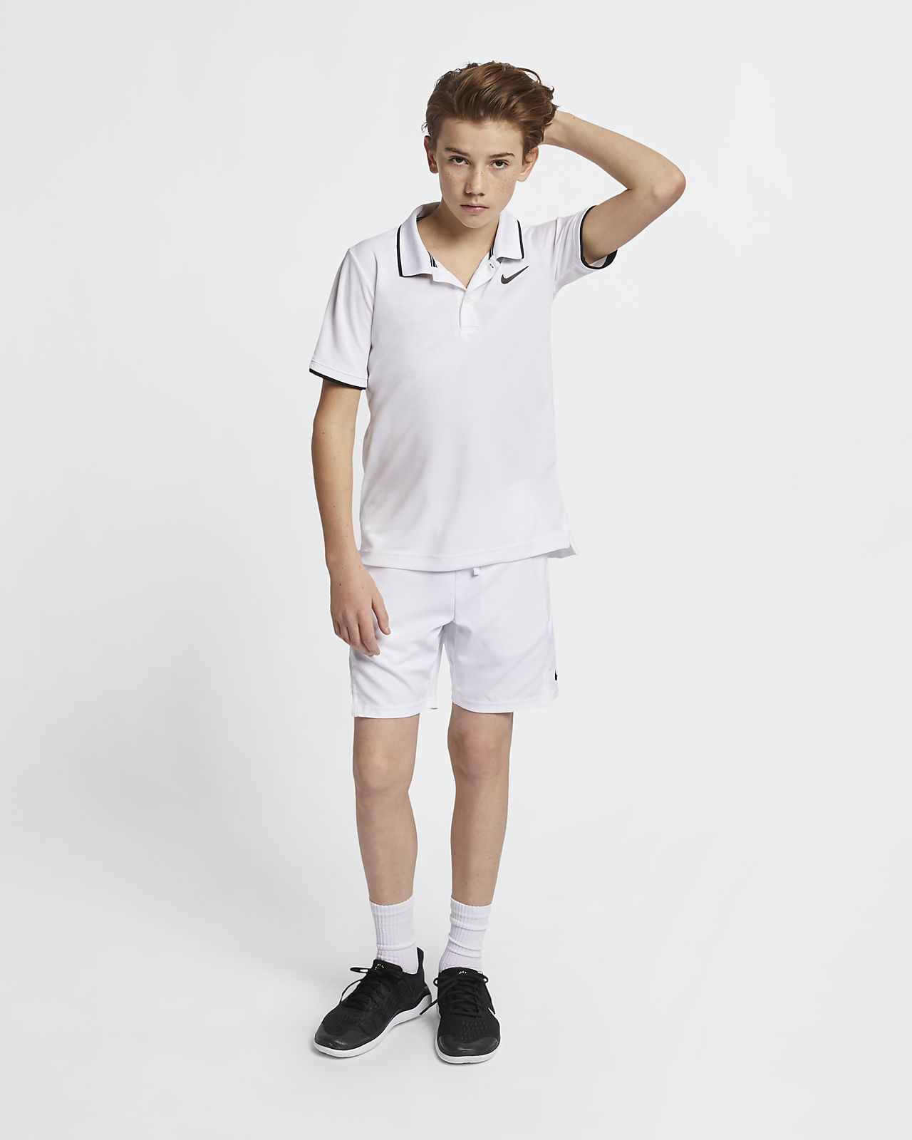 66a521f1 NikeCourt Dri-FIT Older Kids' (Boys') Tennis Polo. Nike.com AU