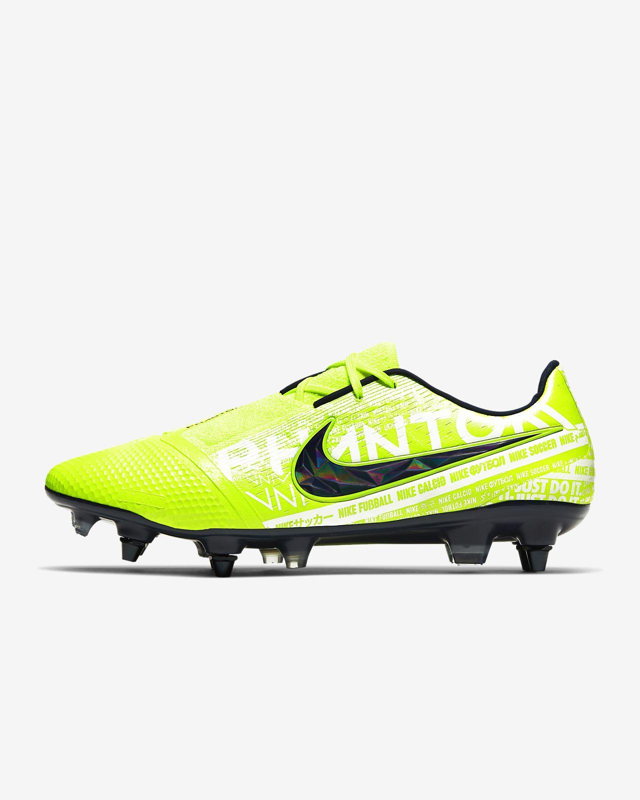 Chaussure de football à crampons pour terrain gras Nike Phantom Venom Elite SG Pro Anti Clog Traction