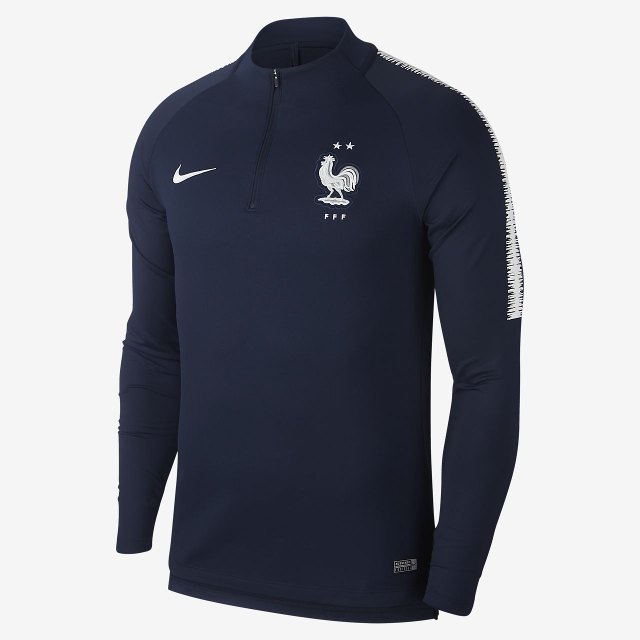 Ανδρική μακρυμάνικη ποδοσφαιρική μπλούζα FFF Dri-FIT Squad Drill