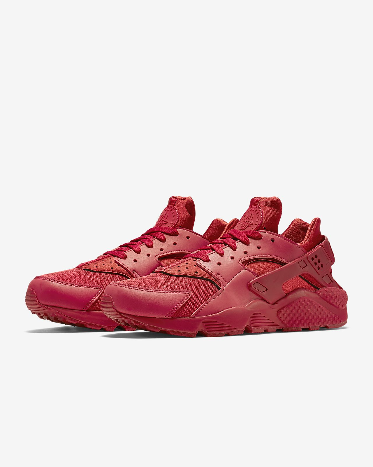 Nike Air Huarache Run Premium Trainers In Pink