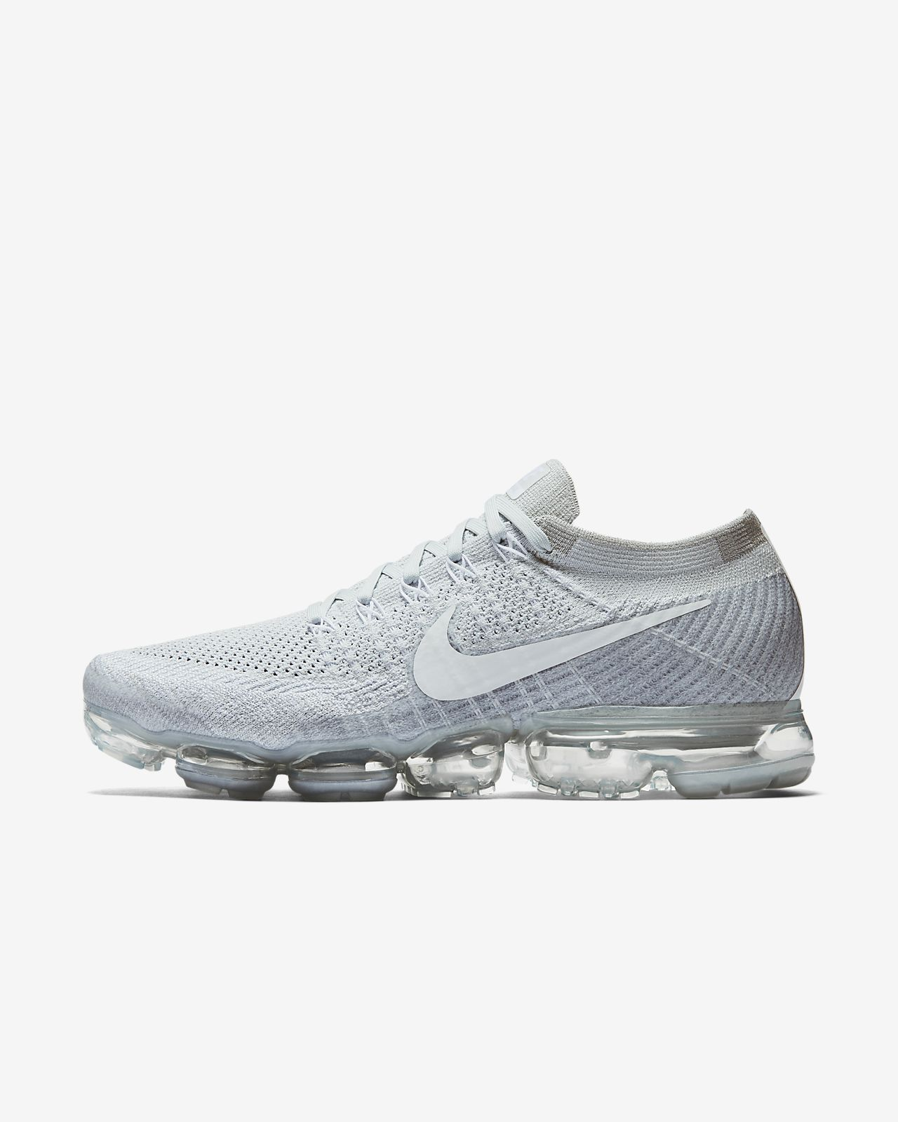 official photos 91e6d 258c8 nike air vapormax flyknit bambino nere
