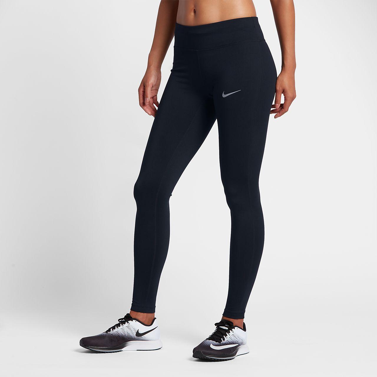 Nike Essential Hardlooptights met halfhoge taille voor dames