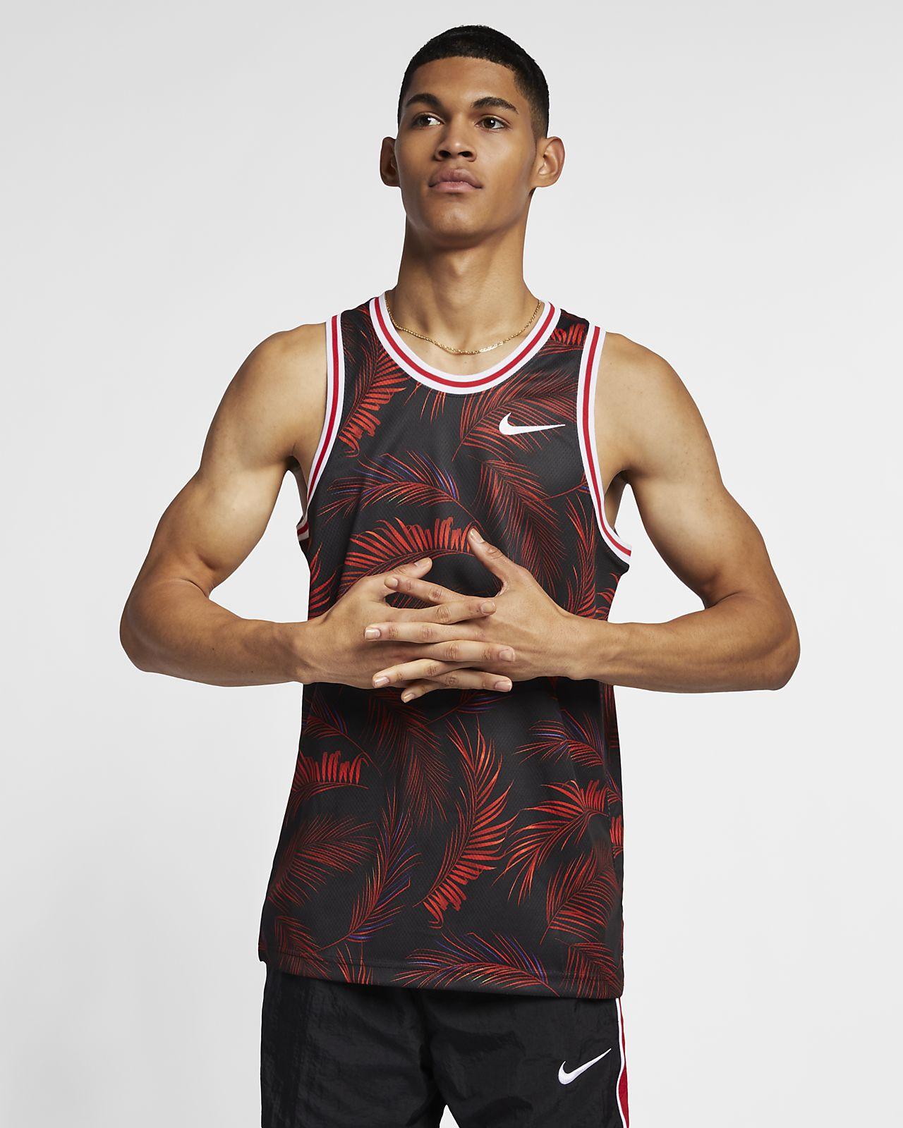 Nike Dri-FIT DNA–basketballtrøje med print til mænd