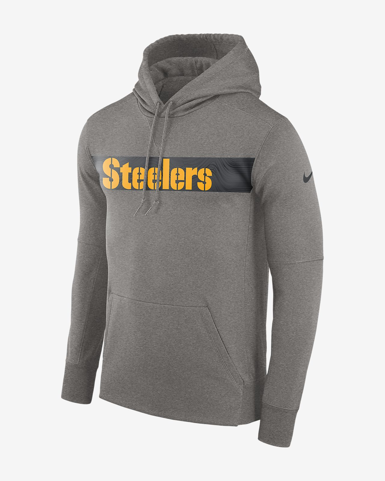 online store 63dc8 f1650 Nike Dri-FIT Therma (NFL Steelers) Men's Pullover Hoodie