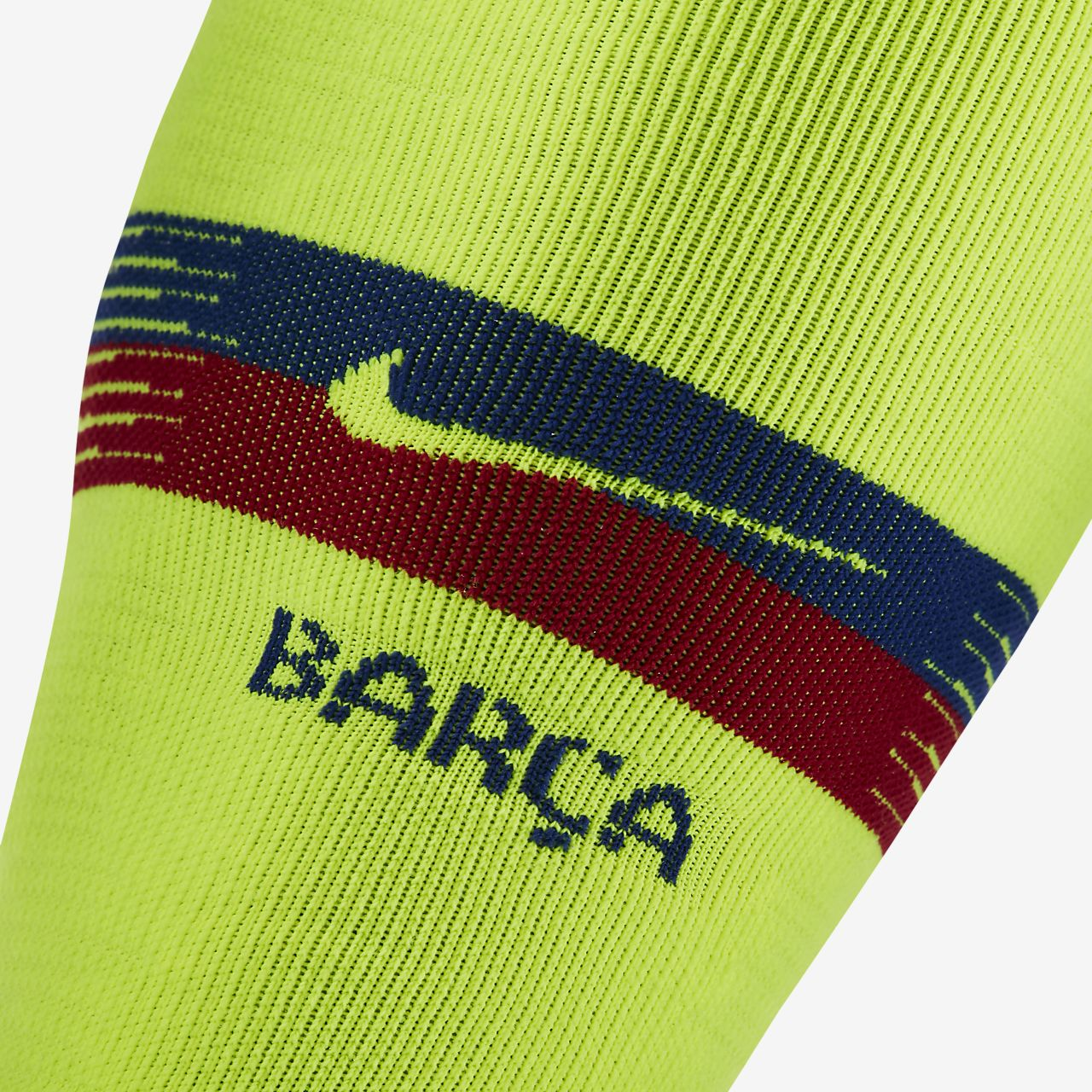 3acb8b5401 ... Meias de futebol 2018 19 FC Barcelona NikeGrip Match Away Over-the-Calf
