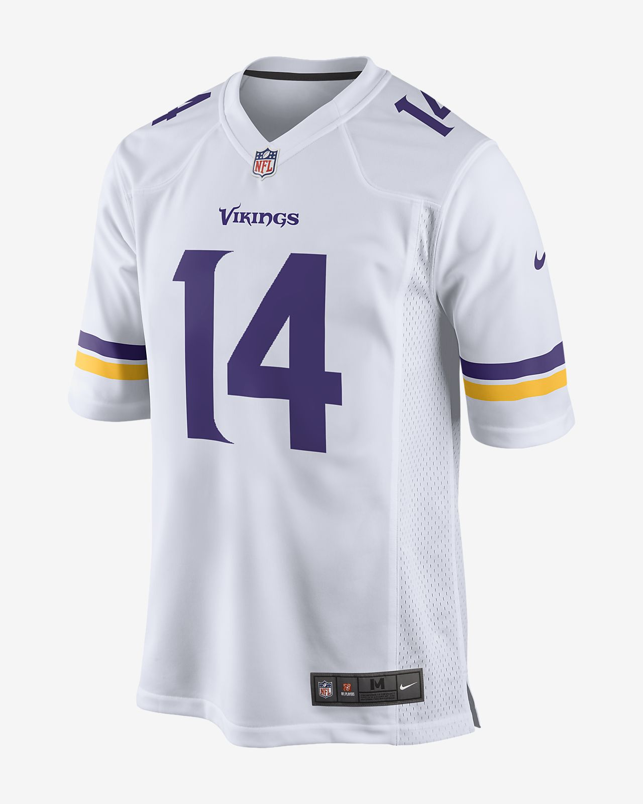 NFL Minnesota Vikings (Stefon Diggs) Men s Game Football Jersey ... 473ecef5f