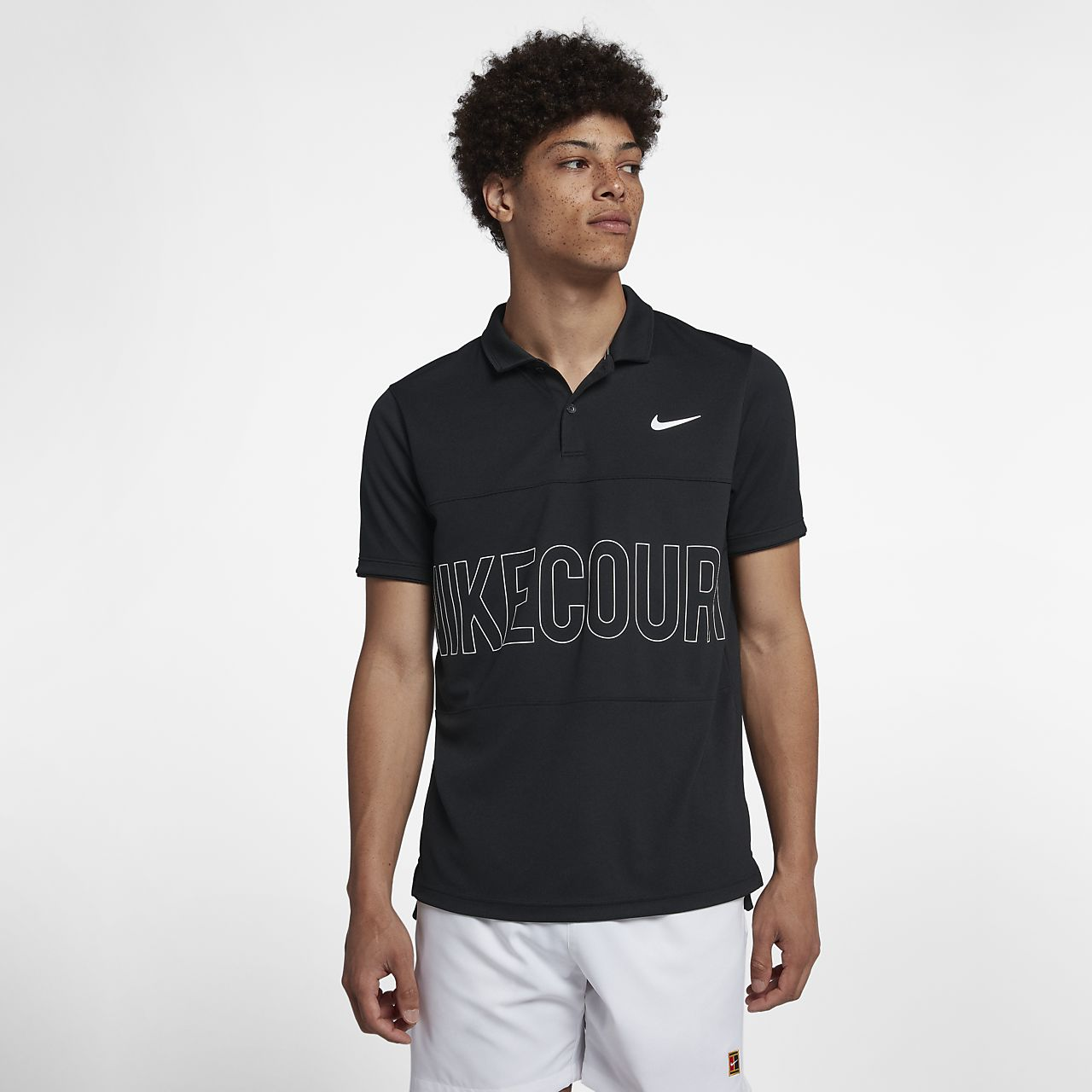 7768dae8 NikeCourt Dri-FIT Men's Graphic Tennis Polo. Nike.com FI