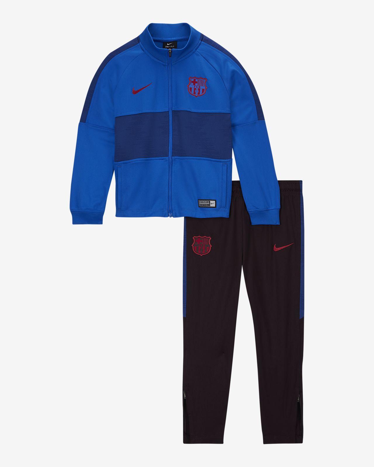 Футбольный костюм для дошкольников FC Barcelona Strike