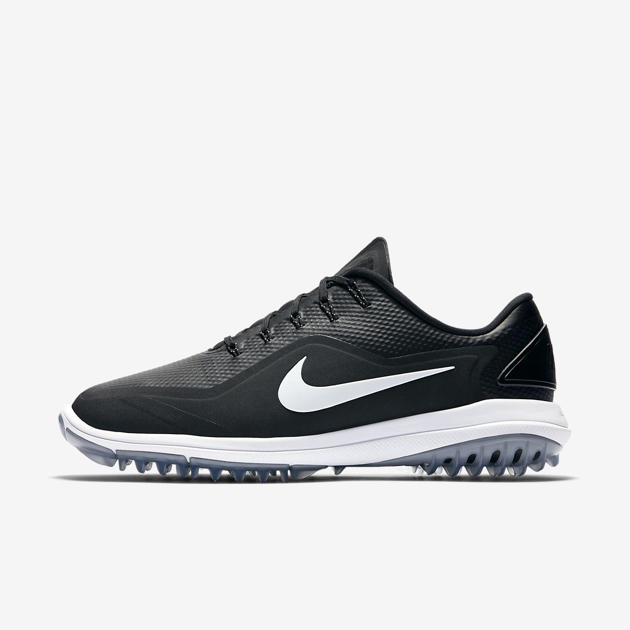 Nike Damen Lunar Control Vapor Golfschuhe, Schwarz (Black/Metallic Silver/White), 40.5 EU