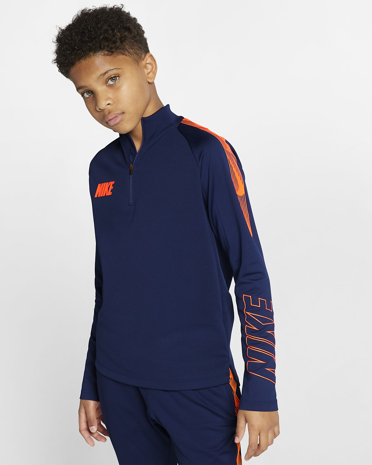 Ποδοσφαιρική μπλούζα προπόνησης Nike Dri-FIT Squad για μεγάλα παιδιά