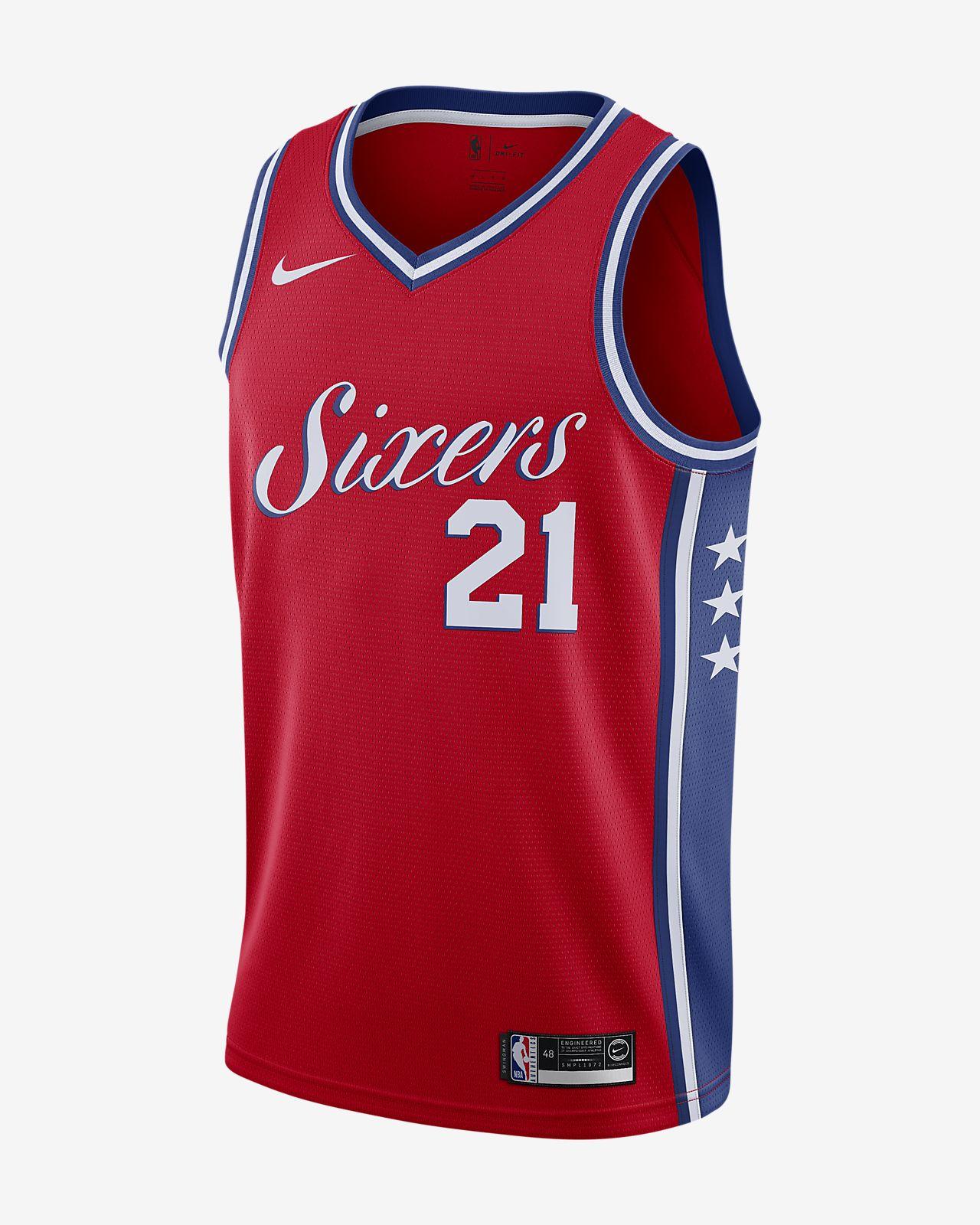 aecd20926c2 Joel Embiid Statement Edition Swingman Jersey (Philadelphia 76ers) Mens Nike  NBA ...