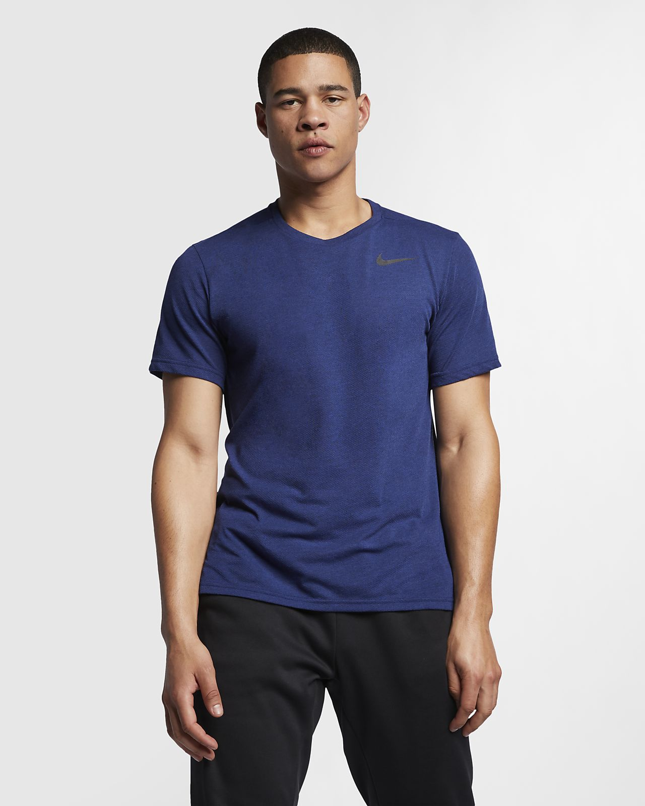 Ανδρική κοντομάνικη μπλούζα προπόνησης Nike Breathe