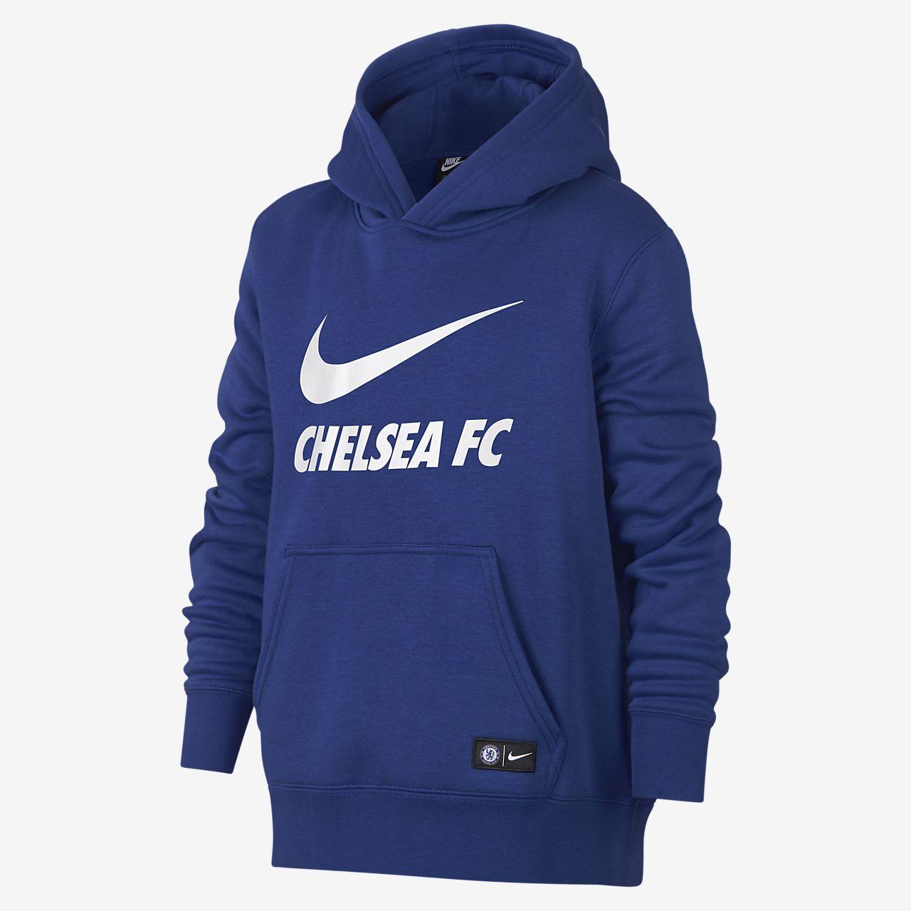 6909a49b30a3 Chelsea FC Older Kids  Sweatshirt Hoodie. Nike.com BG
