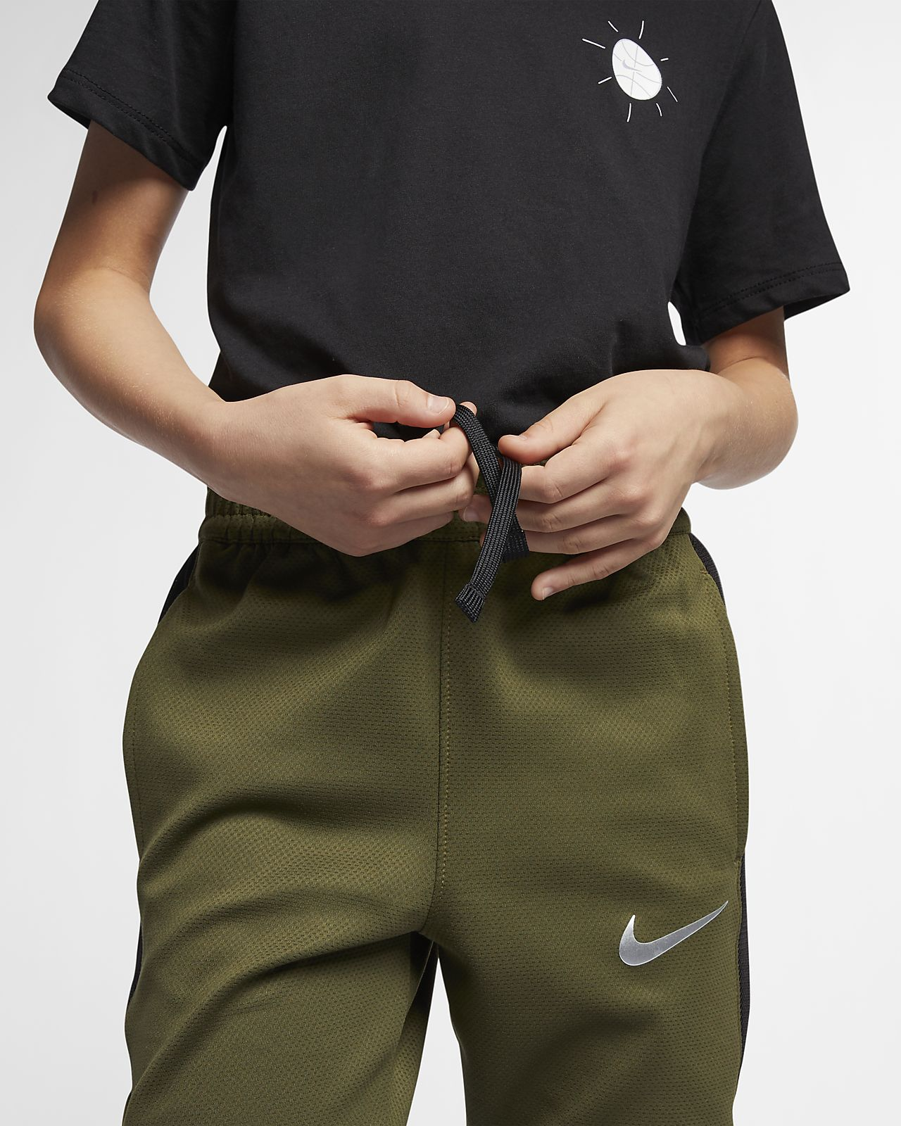 a980c6d1d ... Nike Dri-FIT Therma Flex Showtime Big Kids' (Boys') Basketball Pants