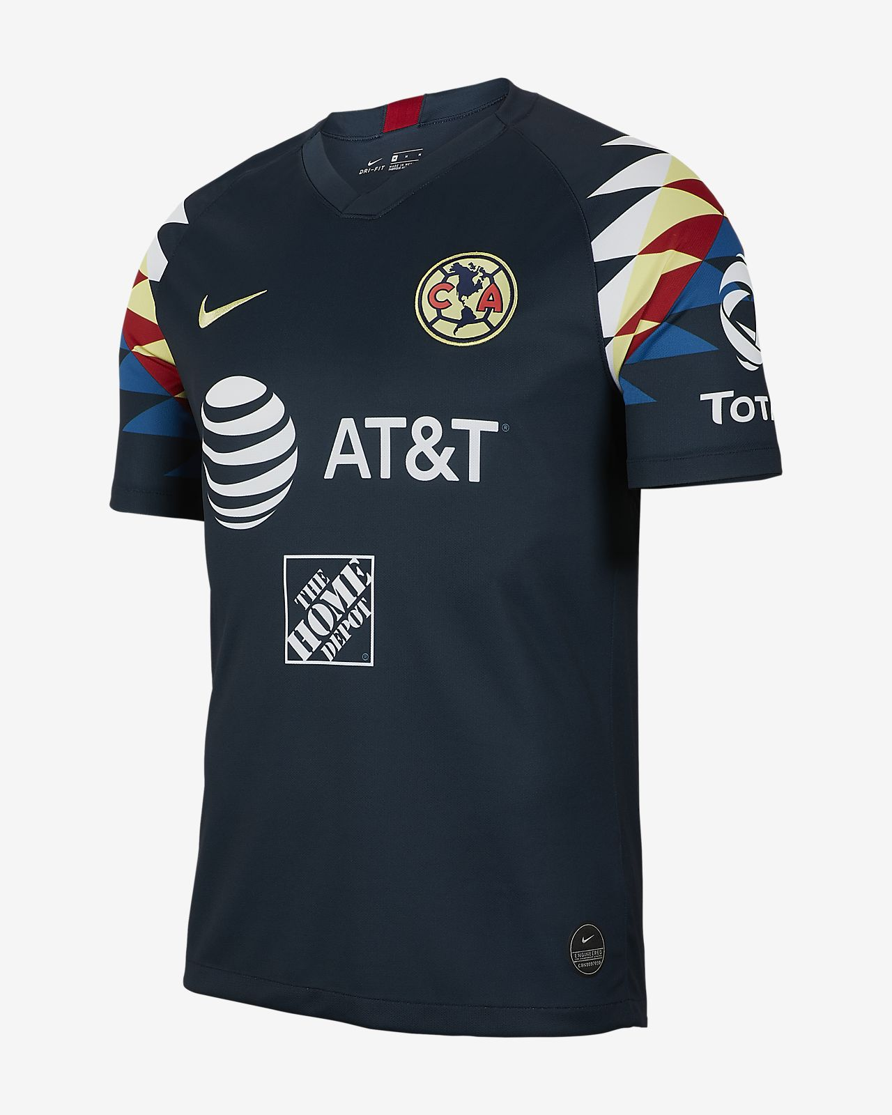 Club América 2019/20 Stadium Away Men's Soccer Jersey