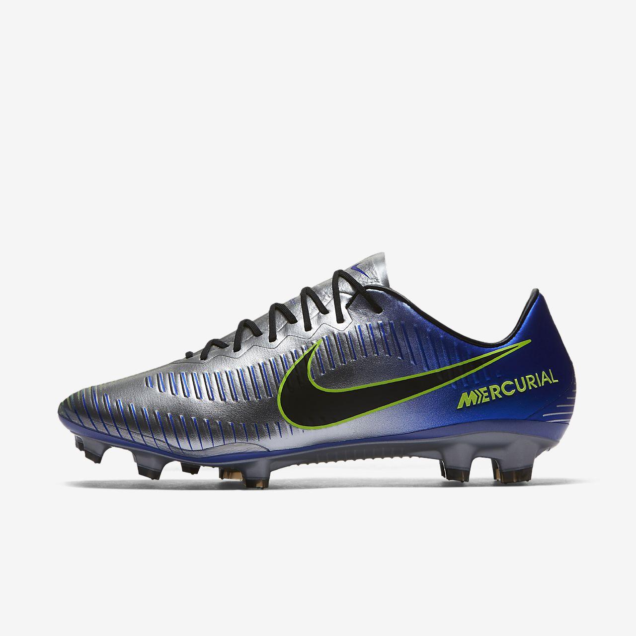 Nike Performance MERCURIAL VAPOR XI FG - Chaussures de foot à crampons bleu Ee3ub5t