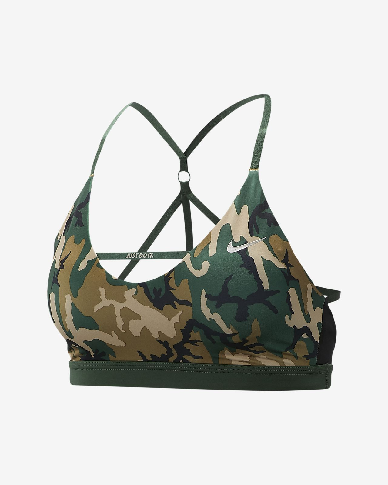 Nike Indy Women's Camo Light Support Sports Bra