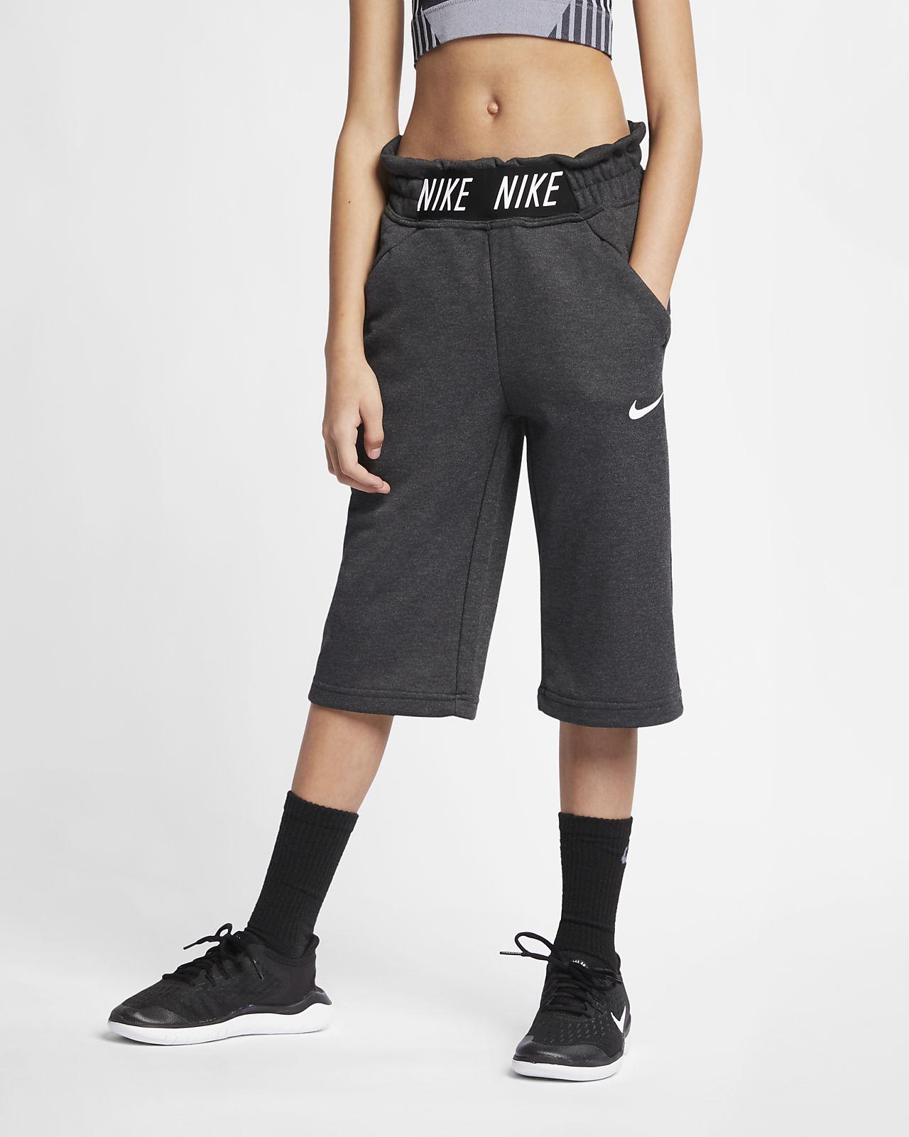 Pantalones de entrenamiento tipo culotte para niña talla grande Nike