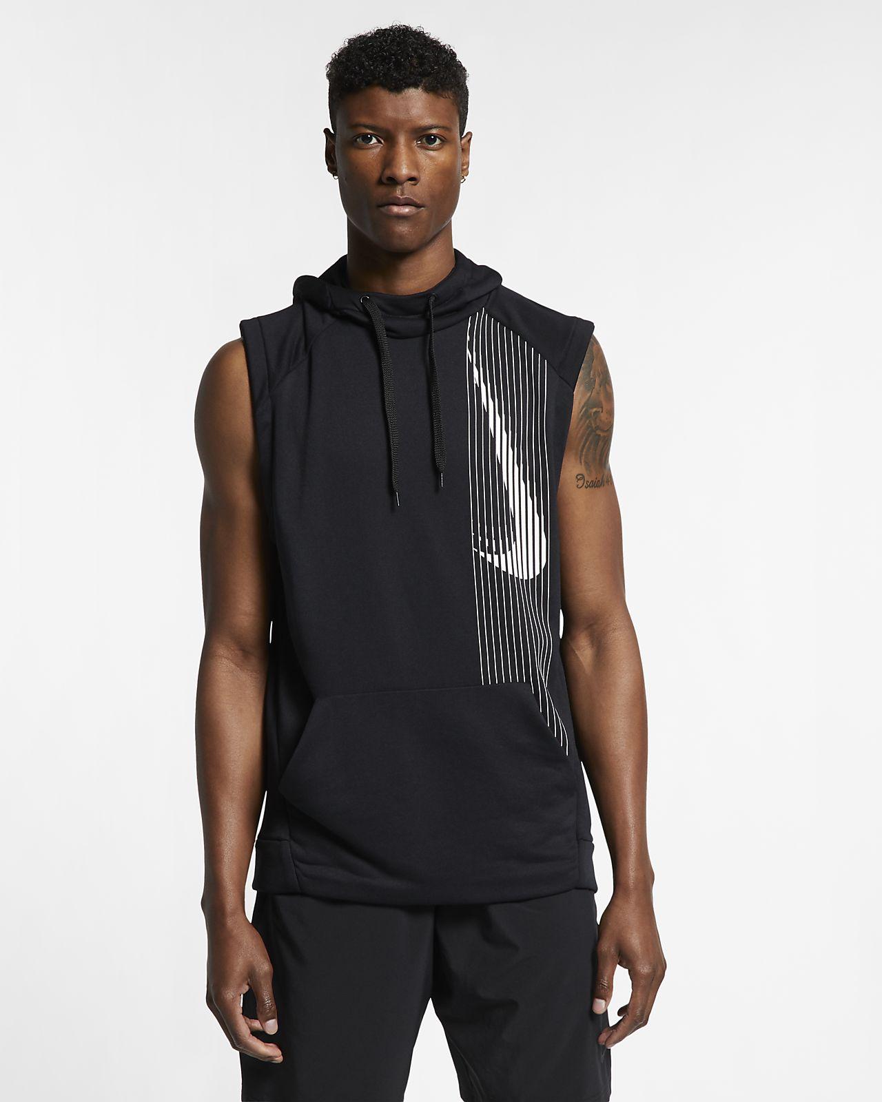 Nike Dri-FIT Trainingshoodie zonder mouwen voor heren